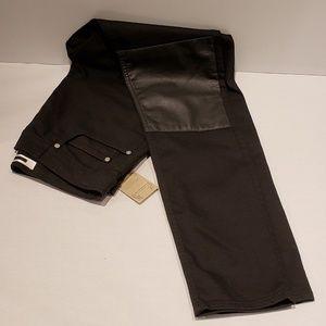 Alexander Mcqueen Slim Straight Jeans in Black